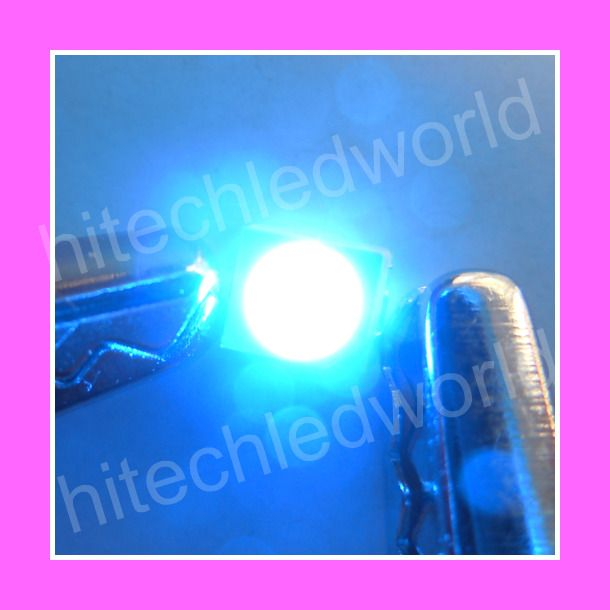 50p SMD SMT 0603 Bright BLUE LED Lamp Light 500mcd