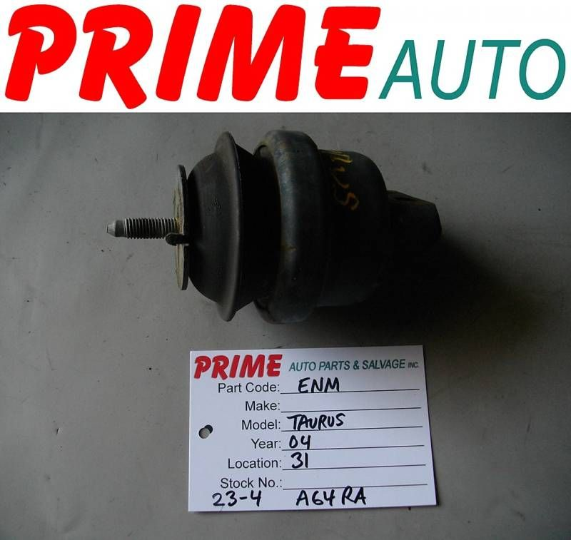 2004 04 Ford Taurus Engine Motor Mount A64RA OEM