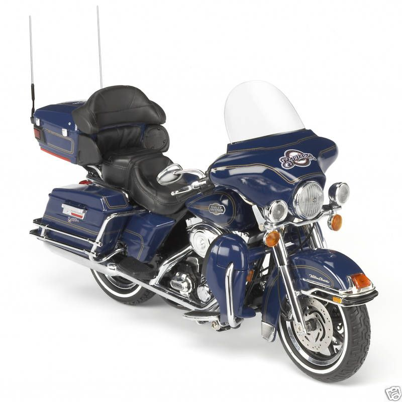 Milwaukee Brewers Diecast Harley Davidson Motorcycle